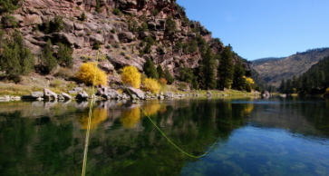 flyfishing the Green river