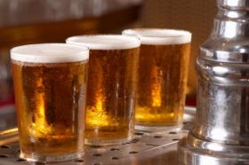 Utah beer on tap