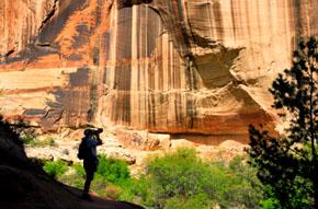Escalante Utah hiker