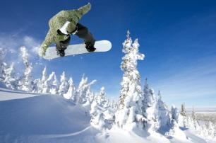 Brighton Snowboarder
