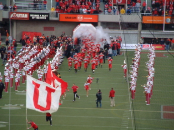 Utes and BYU 2008